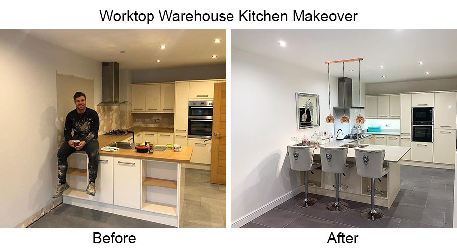 Worktop Warehouse UK Kitchen Makeover